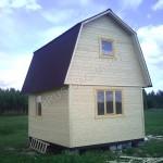 Брусовый домик - Брусовая дача