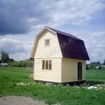 Брусовая дача - Дом из бруса
