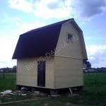 Брусовая дача - Дом деревянный из бруса