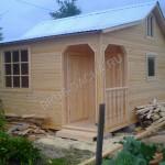 Брусовая дача - Строительство домов, дач, бань из профилированного бруса