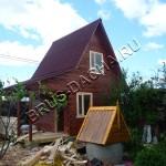 Деревянная баня из бруса - Брусовая дача