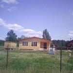 Брусовая дача - При строительстве дома из бруса - бытовка в подарок