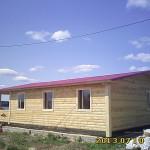 Построили еще один дом из бруса - Брусовая дача