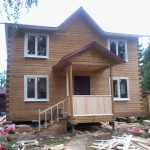 Брусовая дача - Готовый дом из бруса