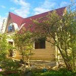 Брусовая дача - почти готовый брусовый дом