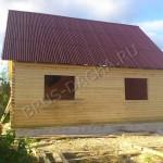 Брусовая дача - построить дом дачу из бруса