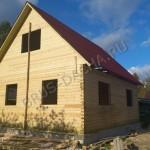Почти готовый деревянный брусовый дом от Брусовая дача