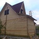 Брусовая дача - Дом из профилированного бруса недорого