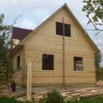 Брусовая дача - Деревянный дом, дача из бруса