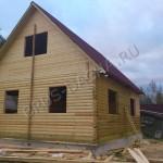 Дома и дачи из профбруса - Брусовая дача
