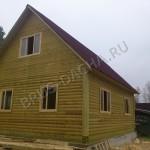 Брусовая дача - Построить купить брусовый дом дачу
