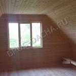 Брусовая дача - Мансарда наших брусовых домов