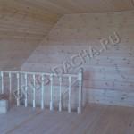 Мансарда деревянных домов - Брусовая дача