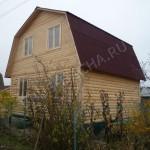 """Загородный деревянный дом от """"Брусовая дача"""""""