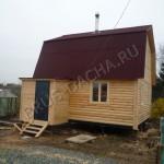 Построим дом, баню из бруса - Брусовая дача