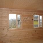 Внутренняя отделка дома из бруса - Брусовая дача