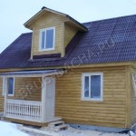 Брусовая дача - Дом из профилированного бруса