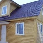 Дом из бруса с евроокнами - Брусовая дача