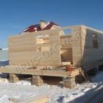 Построить дом из бруса зимой - Брусовая дача