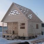 Строим брусовый дом, дачу - Брусовая дача