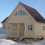 Брусовая дача - Построить дом, дачу, баню из бруса
