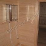 Внутренняя отделка перевозных бань - Брусовая дача