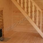 Пол в деревянных домах - Брусовая дача