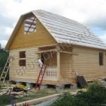Строительство дома из профбруса - Брусовая дача