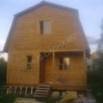 Дом дача из бруса - Брусовая дача