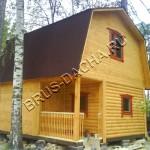 Брусовая дача - построить дом из бруса