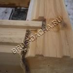 Брусовая дача - Строим дом из бруса