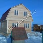 Дома и бани из бруса - Брусовая дача
