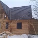 Брусовая дача - Деревянный дом из бруса