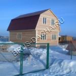 Дом, дача из бруса - Брусовая дача
