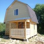 Брусовая дача - деревянный брусовый дом
