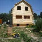 Брусовая дача - Строительство дома, дачи, бани из бруса