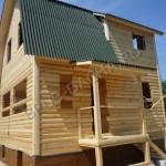 Строительство брусового дома - Брусовая дача