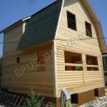 Брусовая дача - Построить дом из профилированного бруса