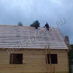 Кроем крышу дома из бруса - Брусовая дача