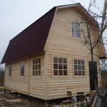 Построить дом из бруса недорого - Брусовая дача