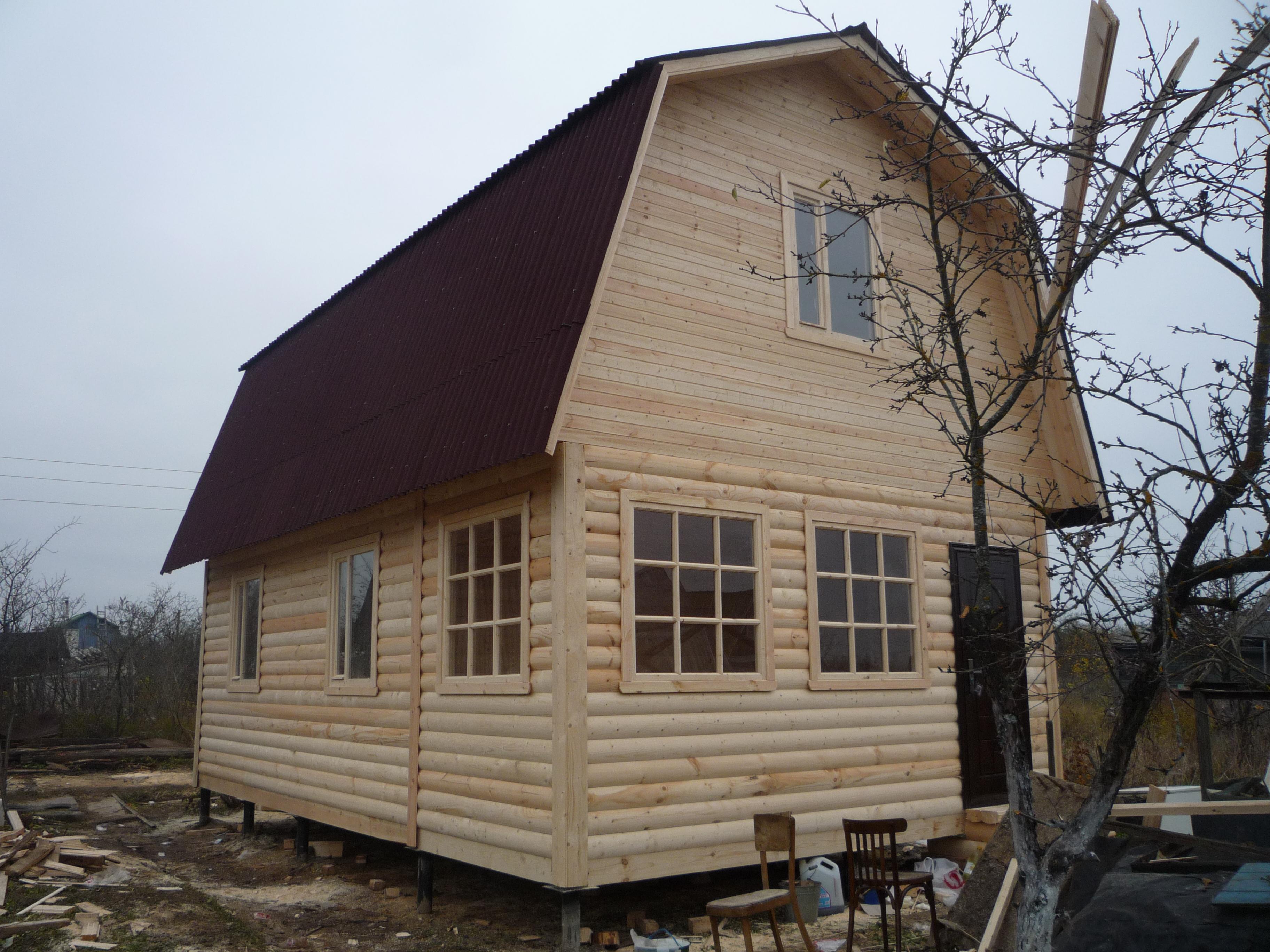Построить Дом Дачу из бруса недорого - Брусовая дача Брусовая дача