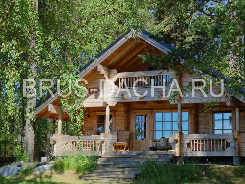 Деревянный дом, - что может быть лучше?