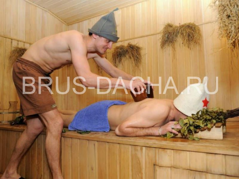 Массаж в бане - и удовольствие и польза
