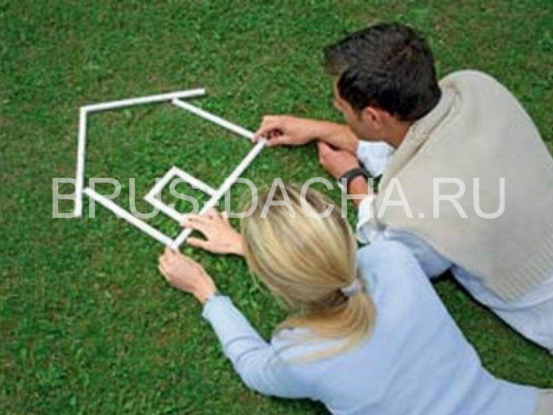 Строим дом из бруса своими руками