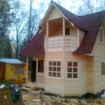 """Построим дом, баню, сруб из бруса - """"Брусовая дача"""""""