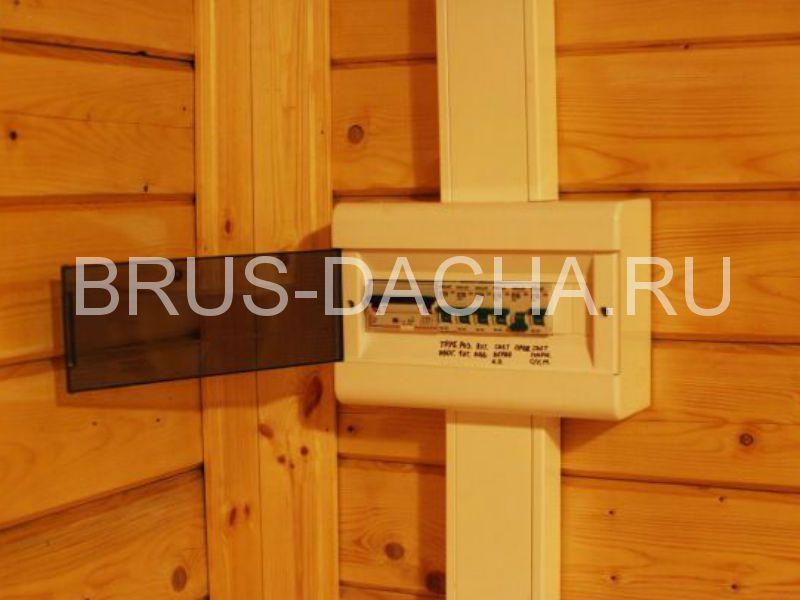 Электричество в деревянном доме из бруса