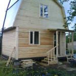 Брусовая дача или дом из бруса