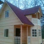 Брусовый дом Брусовая дача