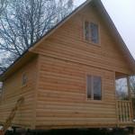 Еще один дом от СК Брусовая дача