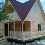 Нами достроен брусовый дом